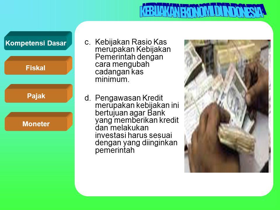 Kompetensi Dasar Fiskal Pajak Moneter
