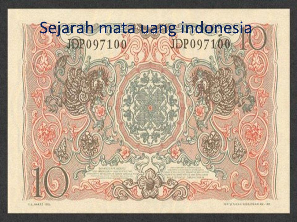 Keluaran 1945 Rupiah adalah mata uang resmi indonesia yang di cetak oleh BI dengan kode ISO4217IDR