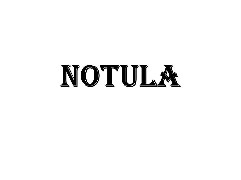 NOTULA