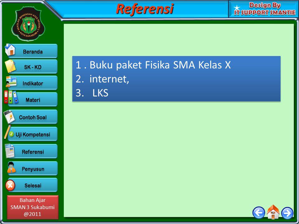 Bahan Ajar SMAN 3 Sukabumi @2011 Bahan Ajar SMAN 3 Sukabumi @2011 Penyususun & Editor PENYUSUN Nama:ADE MULYADI,S.Pd.,M.Pd Institusi:SMA Negeri 3 Kota Sukabumi E-mail:Meda.
