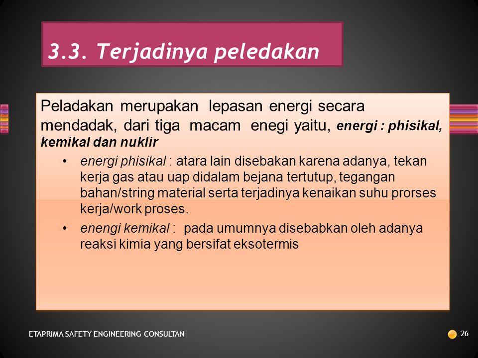 KEGAGALAN TIDAK TERKENDALI ETAPRIMA SAFETY ENGINEERING CONSULTAN 25