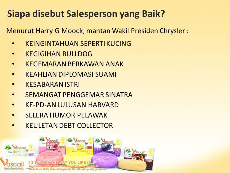 Siapa disebut Salesperson yang Baik.