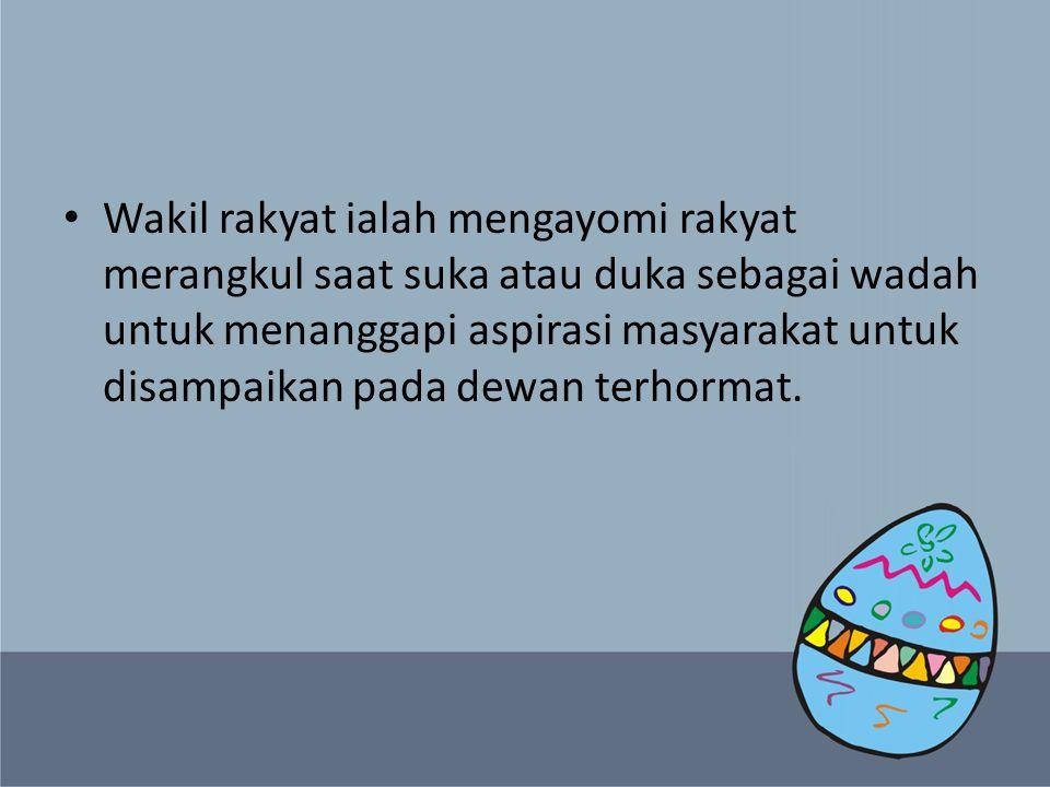 Semoga Negara Indonesia mendapat pemimpin yang berhati tulus dan mengerti penderitaan rakyat kecil.