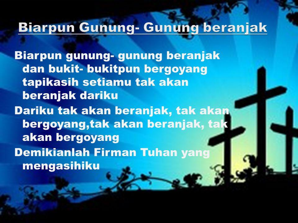 Jalan serta Yesus setiap hari Jalan serta Nya jalan serta Yesus Seta Yesus selamaNya
