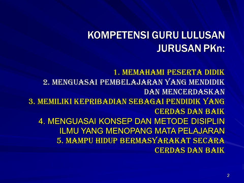 1 MODEL PENGEMBANGAN BAHAN AJAR DAN HANDOUT PKn BERWAWASAN KONTEKSTUAL Oleh: Udin S.Winataputra, Prof.Dr.,M.A. FKIP-UNIVERSITAS TERBUKA