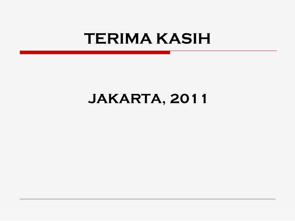 TERIMA KASIH JAKARTA, 2011