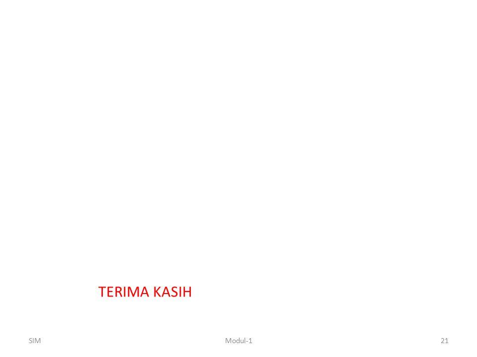 TERIMA KASIH SIM21Modul-1