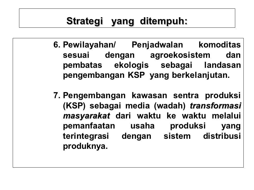 Strategi yang ditempuh: nilai tambah 4. Penerapan prinsip-prinsip efisiensi dan kreasi nilai tambah dalam setiap keputusan dan tindakan usahatani. net