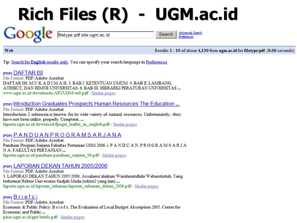 42 Rich Files (R) - UGM.ac.id