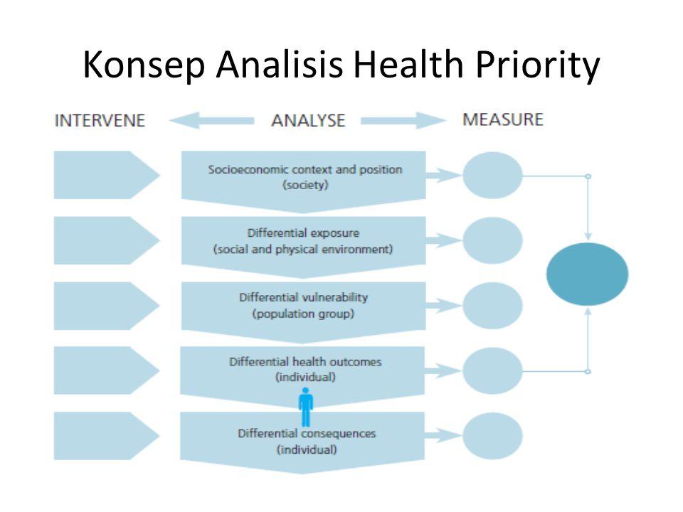 Konsep Analisis Health Priority