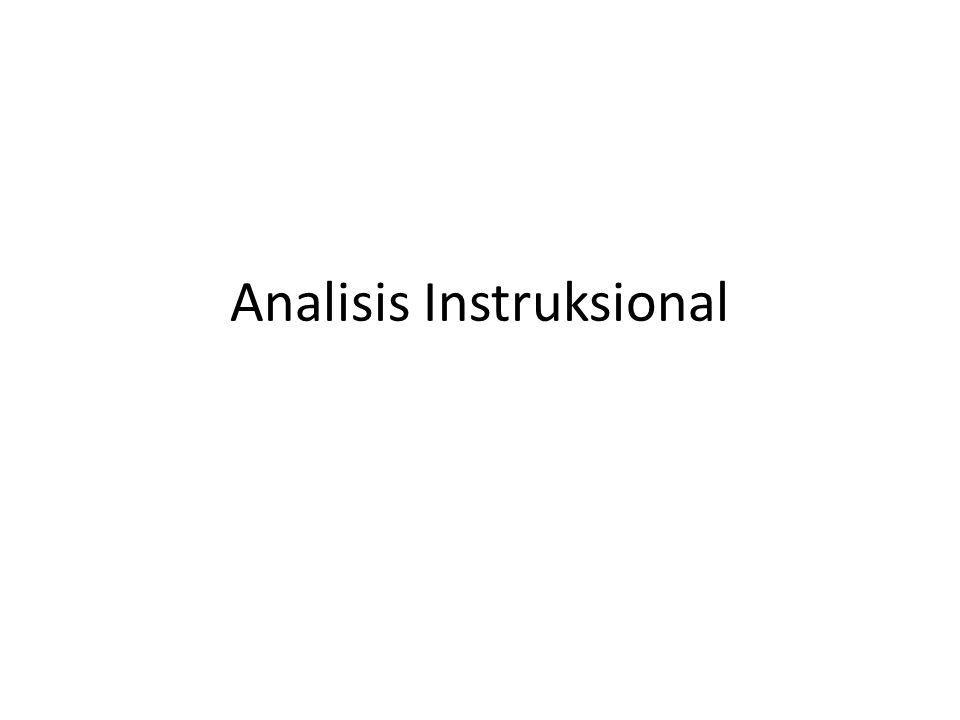 Adalah proses menjabarkan perilaku umum menjadi perilaku khusus yang tersusun secara logis dan sistematis, dengan demikian akan tergambar susunan perilaku khusus dari yang awal sampai yang paling akhir (Atwi Suparman, 2001)