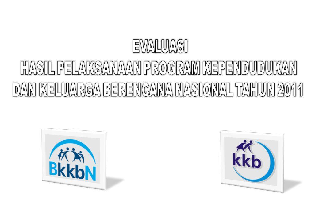 Program KB Nasional merupakan rangkaian pembangunan kependudukan dan keluarga kecil berkualitas PERPRES NO.