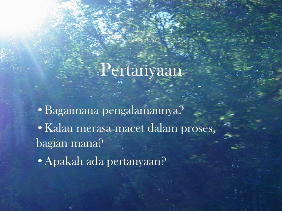 Bagaimana memakai prinsip doa ini untuk PI?