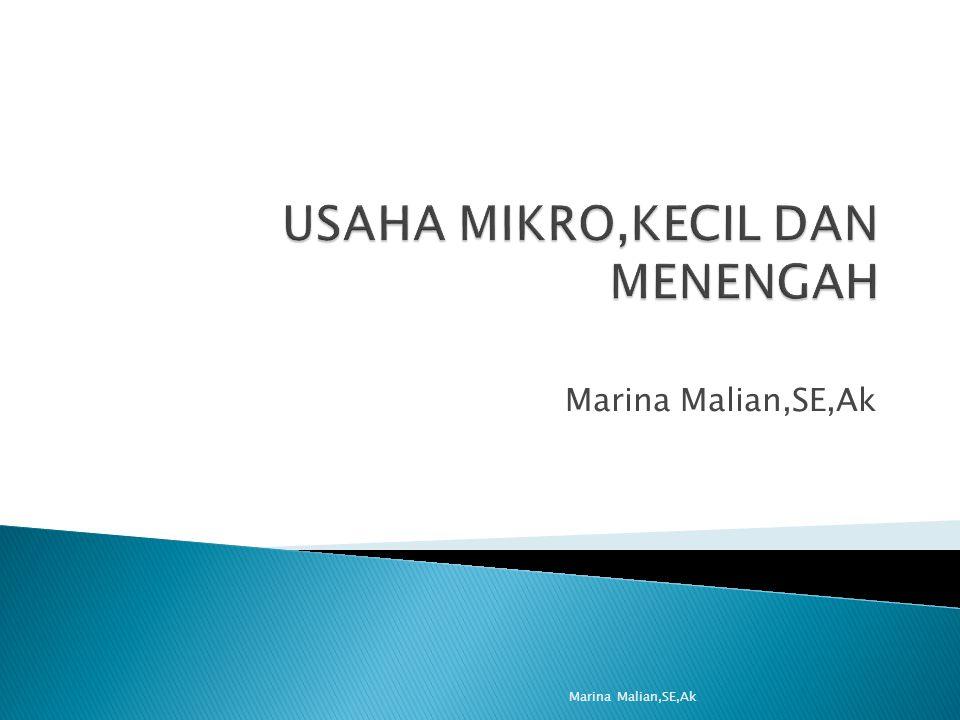 Marina Malian,SE,Ak