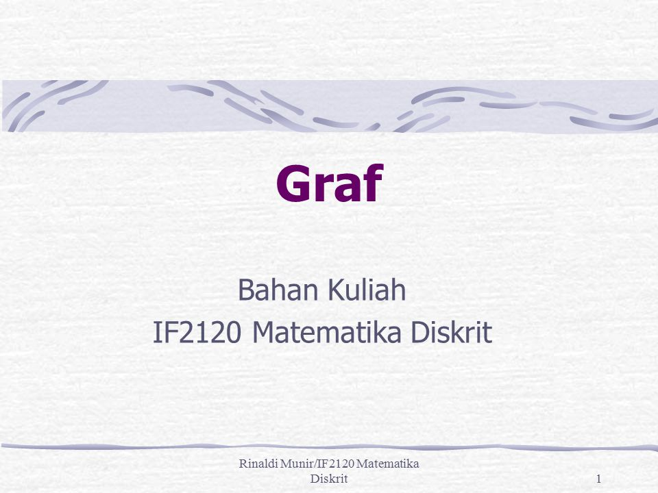 Rinaldi Munir/IF2120 Matematika Diskrit32