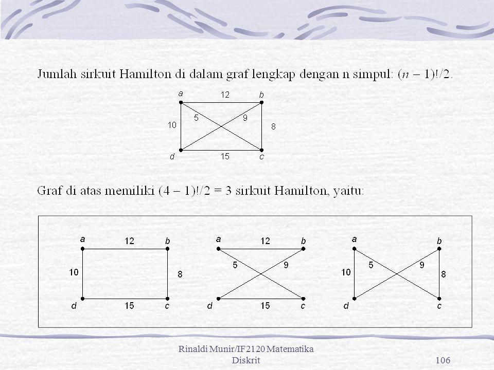 Rinaldi Munir/IF2120 Matematika Diskrit106