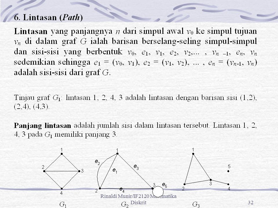 Rinaldi Munir/IF2120 Matematika Diskrit32