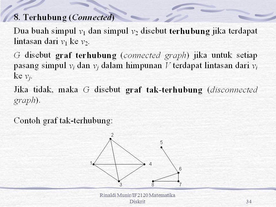 Rinaldi Munir/IF2120 Matematika Diskrit34
