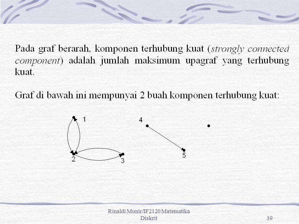 Rinaldi Munir/IF2120 Matematika Diskrit39