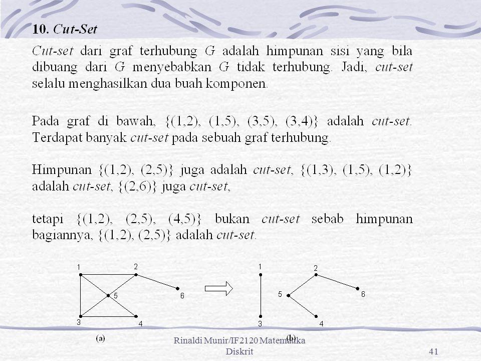 Rinaldi Munir/IF2120 Matematika Diskrit41