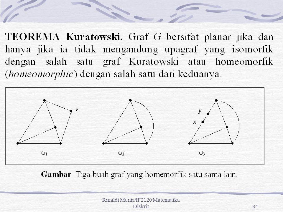 Rinaldi Munir/IF2120 Matematika Diskrit84