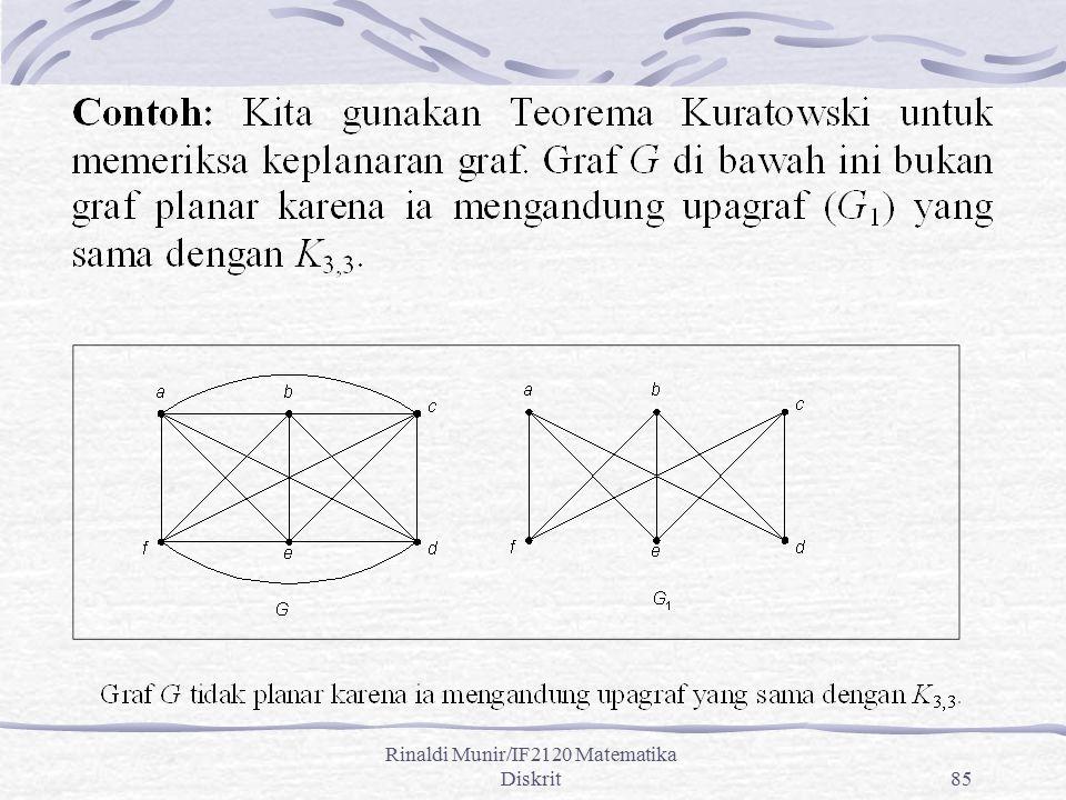 Rinaldi Munir/IF2120 Matematika Diskrit85