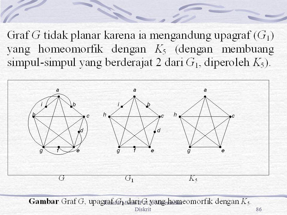 Rinaldi Munir/IF2120 Matematika Diskrit86