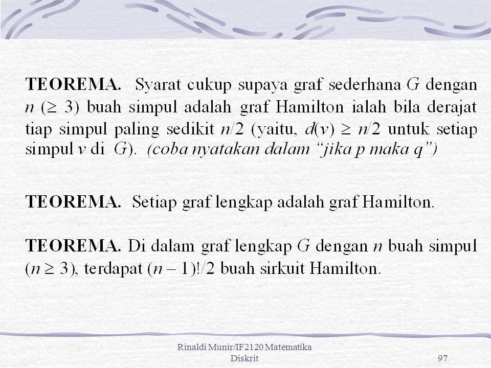 Rinaldi Munir/IF2120 Matematika Diskrit97