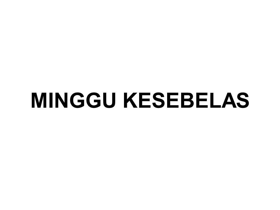 MINGGU KESEBELAS