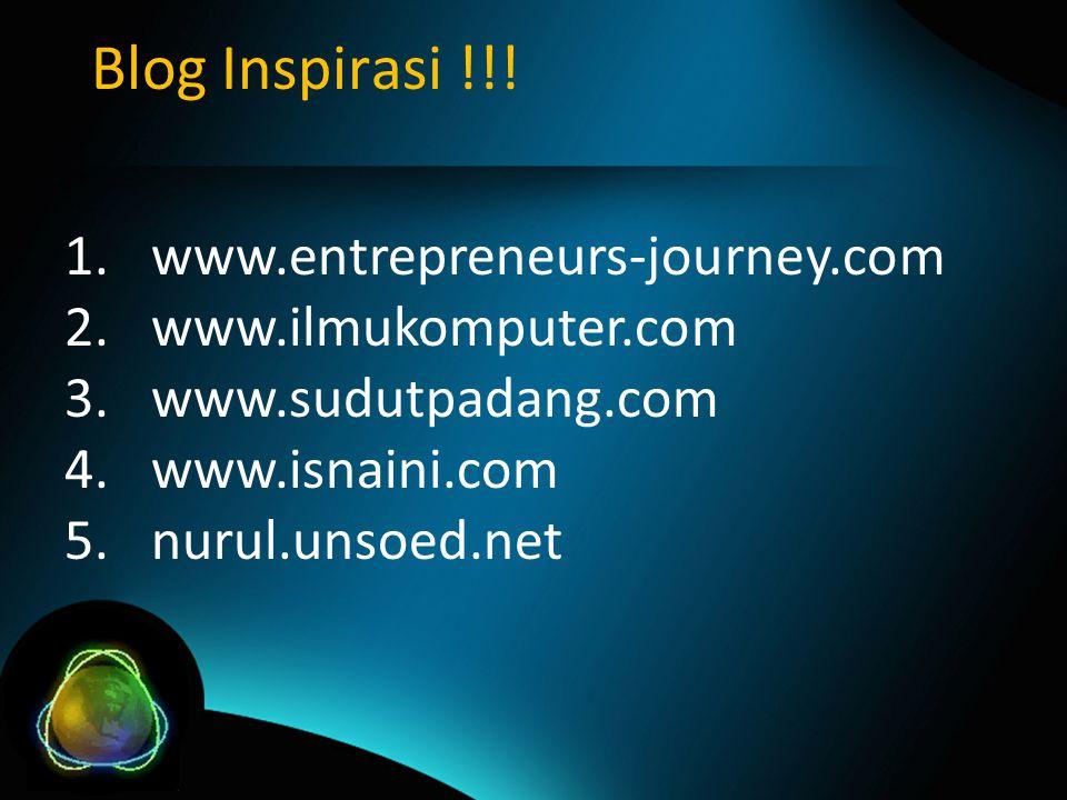 Blog Inspirasi !!.