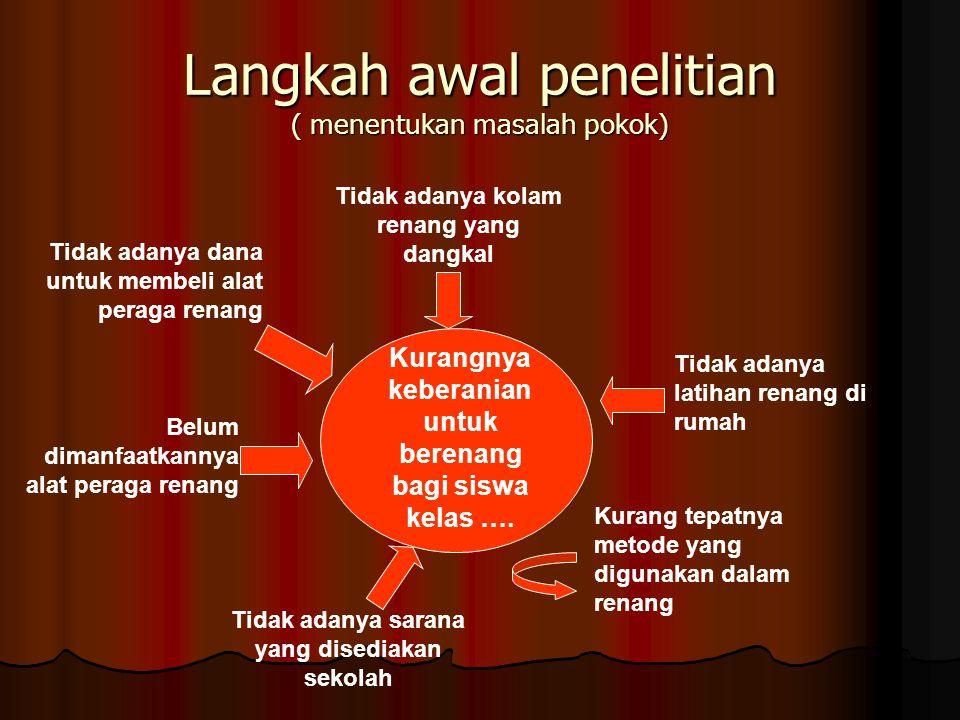 BAB IV HASIL PENELITIAN & PEMBAHASAN A.Deskripsi Kondisi Awal B.