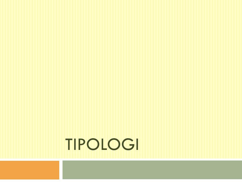 TIPOLOGI