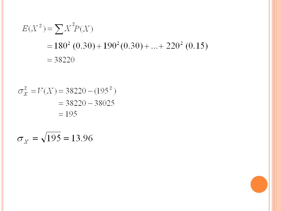 Jadi pemesanan harus dilakukan saat tingkat sediaan sebesar 219 baju. X ̴ N (195, 13.96 2 )