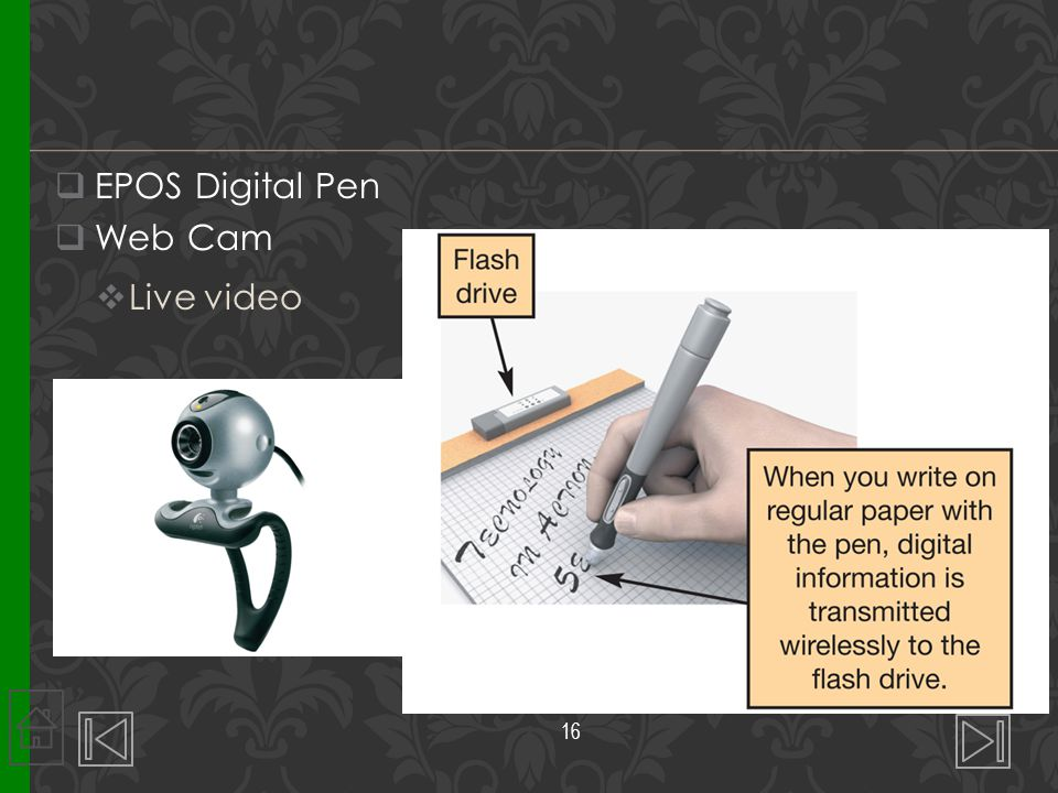  EPOS Digital Pen  Web Cam  Live video 16