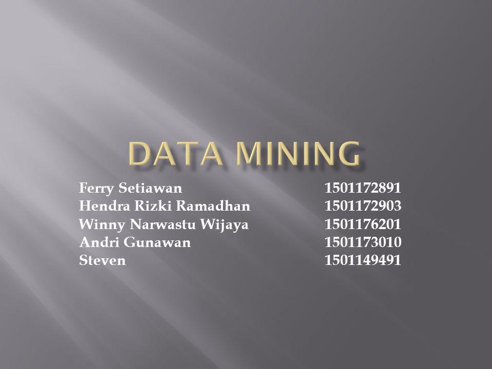 Ferry Setiawan1501172891 Hendra Rizki Ramadhan1501172903 Winny Narwastu Wijaya1501176201 Andri Gunawan1501173010 Steven1501149491