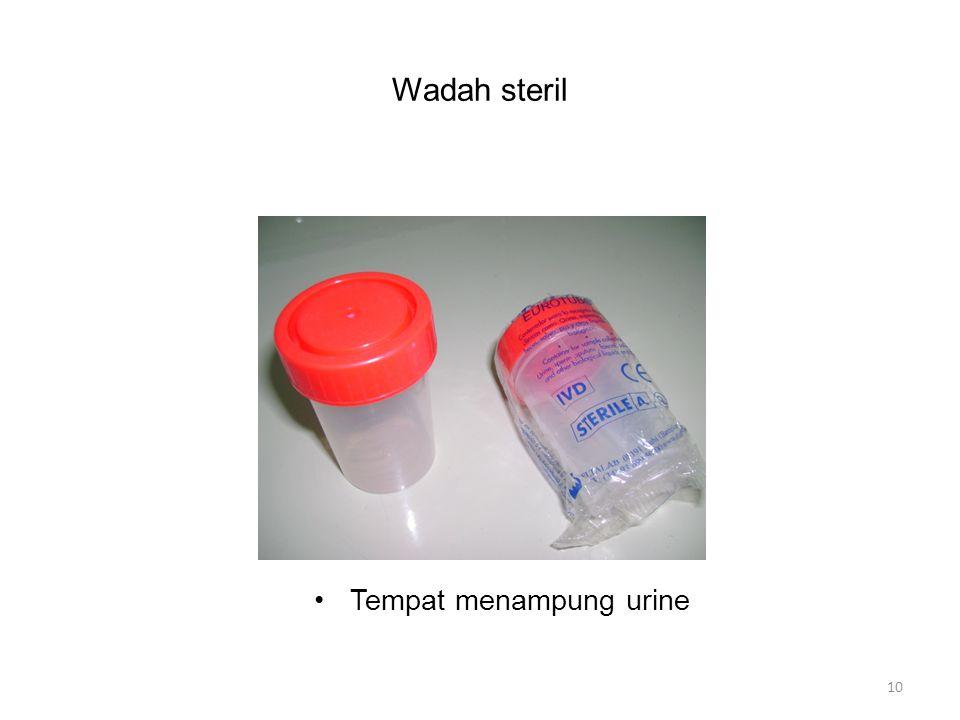 Wadah steril Tempat menampung urine 10