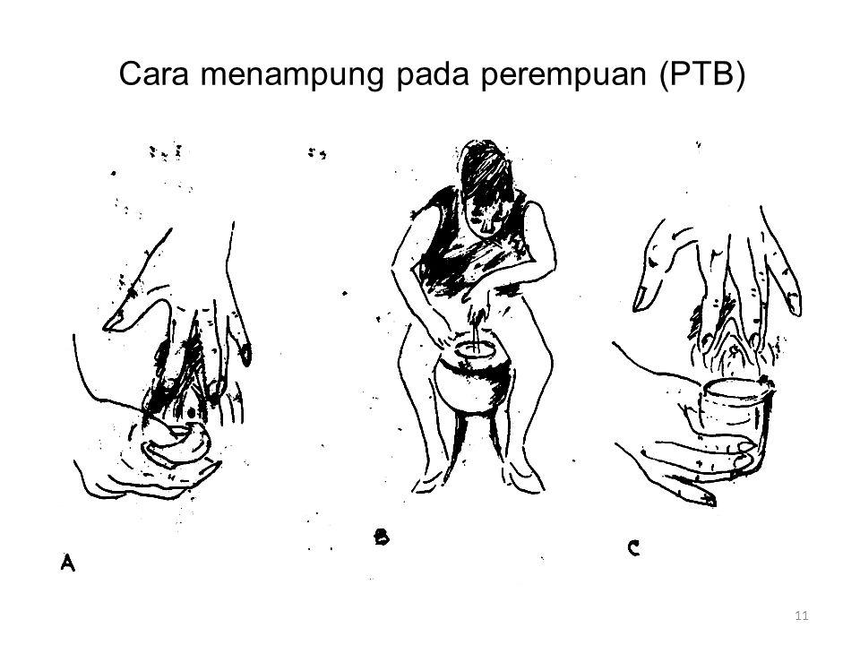 Cara menampung pada perempuan (PTB) 11