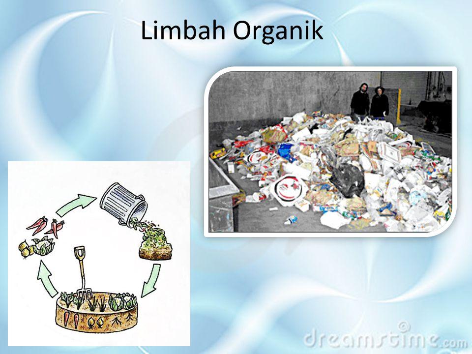 Sampah anorganik dan organik tidak mudah busuk