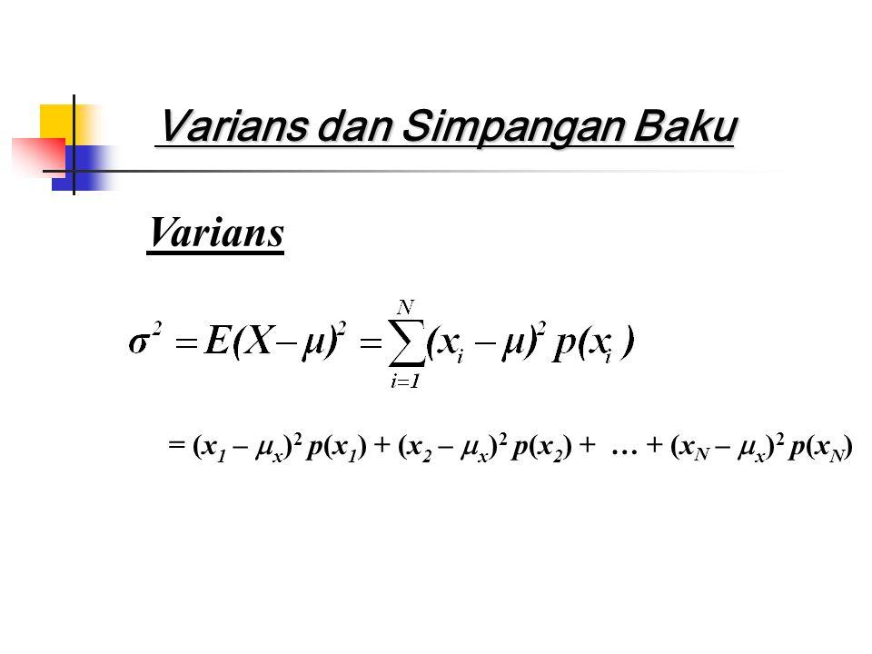 Akar kuadrat positif adalah nilai akar kuadrat rata-rata (nilai rms):