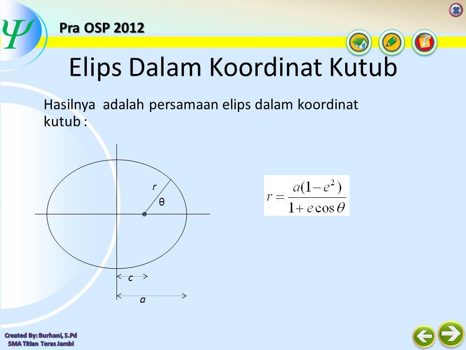  Hukum III Keppler (Hukum Periode) Kuadrat periode planet dalam orbitnya terhadap Matahari sebanding dengan pangkat tiga jarak rata-rata planet ke Matahari.