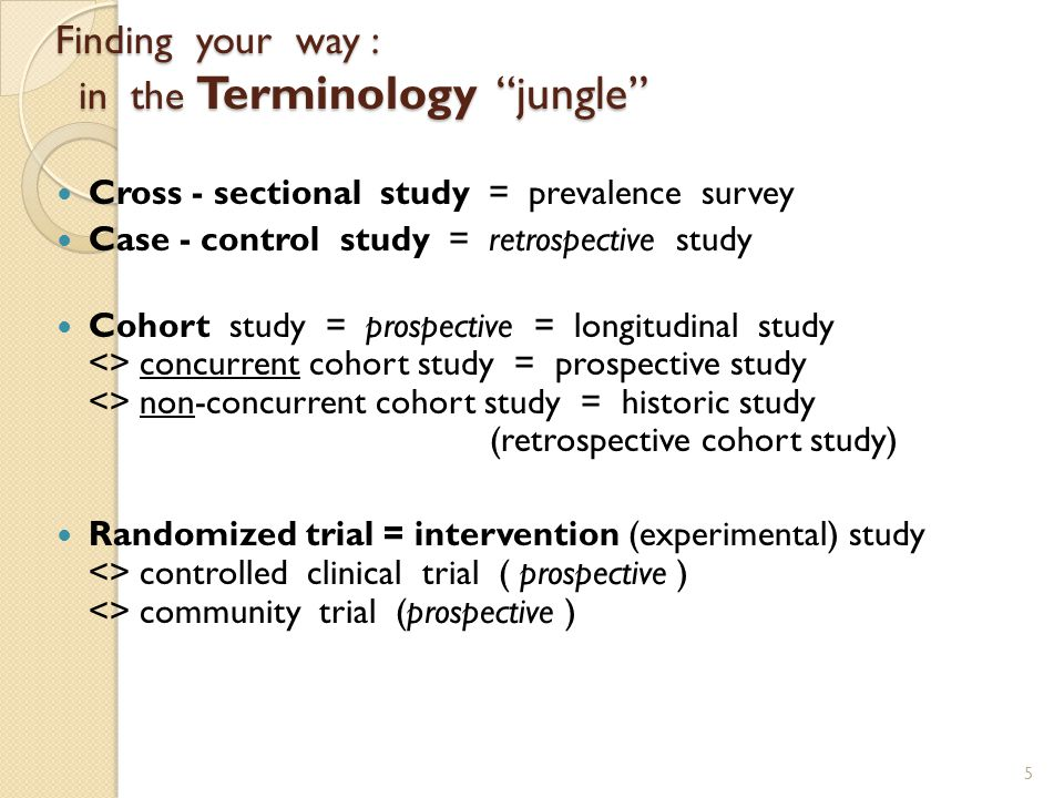 Overview of epidemiologic studies : design strategies 1. Descriptive designs : suggest / generate hypotheses > populations : (correlational studies)/s