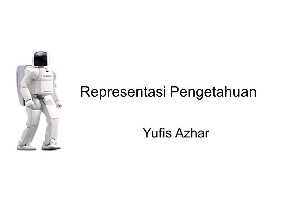 Representasi Pengetahuan Yufis Azhar