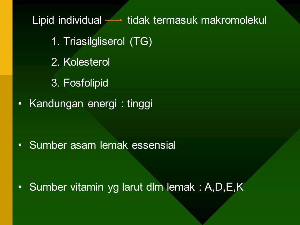 LIPID * sekelompok senyawa heterogen yg berhu- bungan dgn asam lemak, sifatnya : 1.