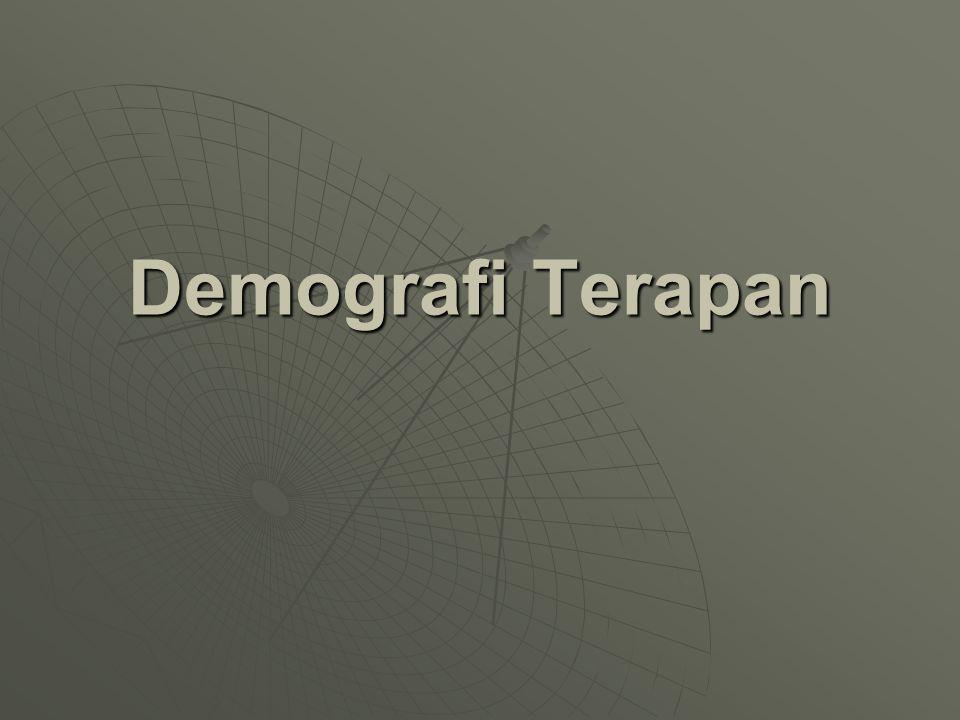 Demografi Terapan