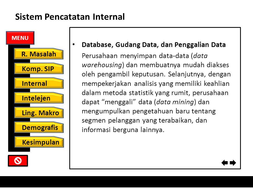 Sistem Pencatatan Internal Siklus pesanan sampai dengan pembayaran Inti sistem pencatatan internal adalah siklus pesanan sampai dengan pembayaran, ped