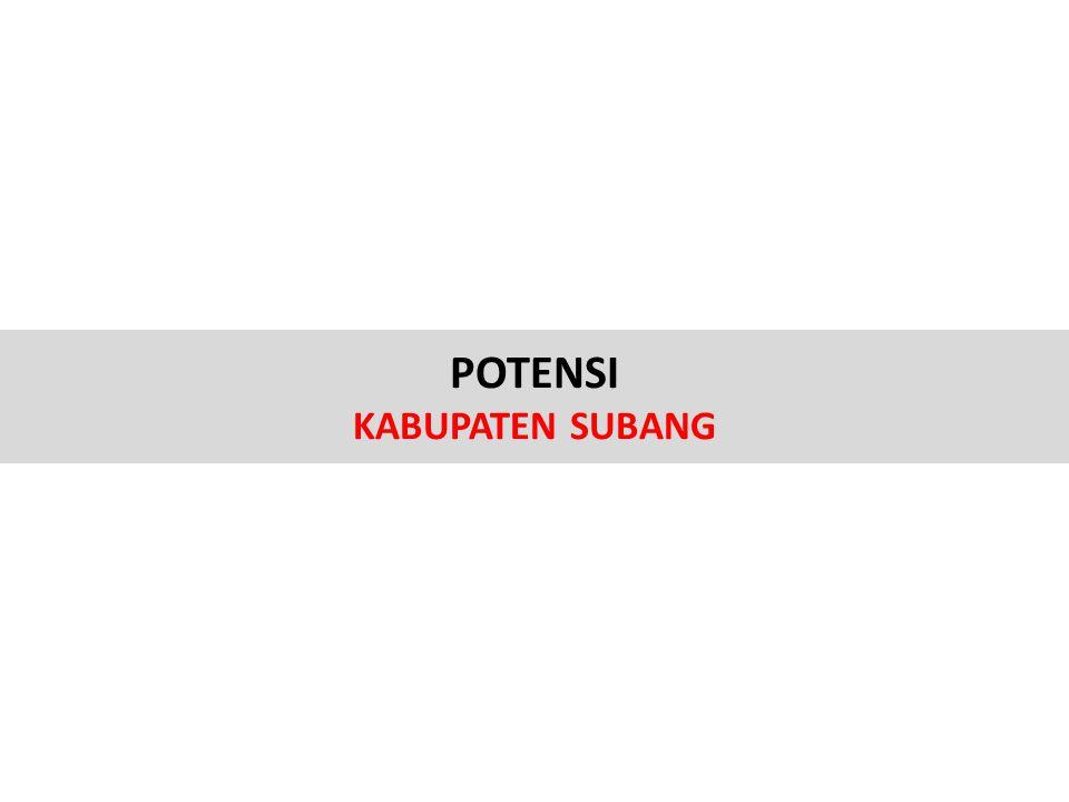 POTENSI KABUPATEN SUBANG