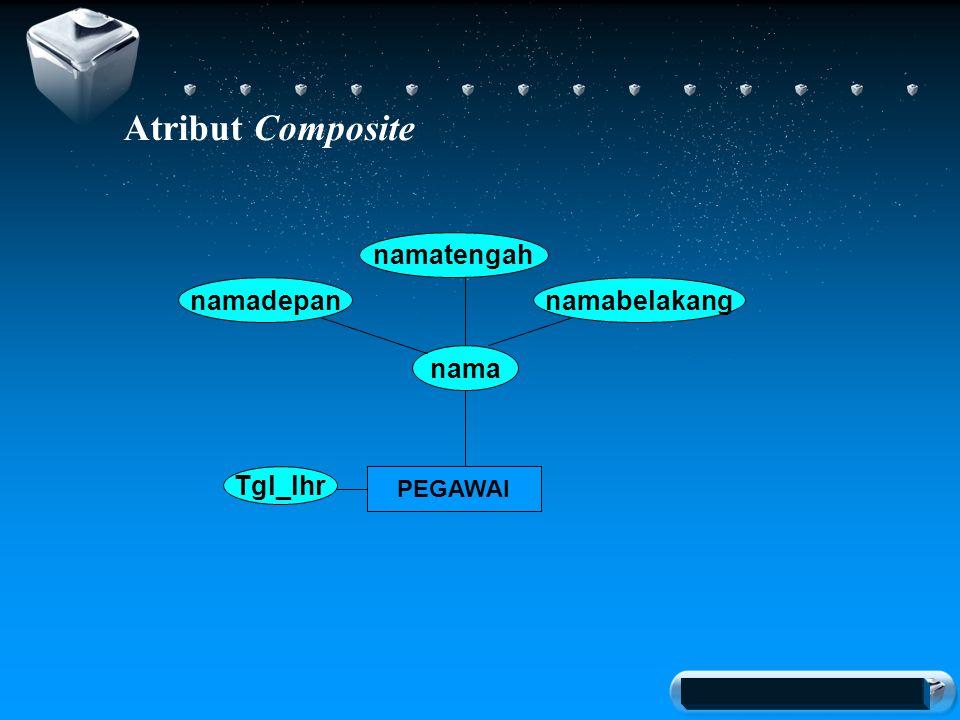 Your company slogan Atribut Composite PEGAWAI nama Tgl_lhr namadepan namatengah namabelakang