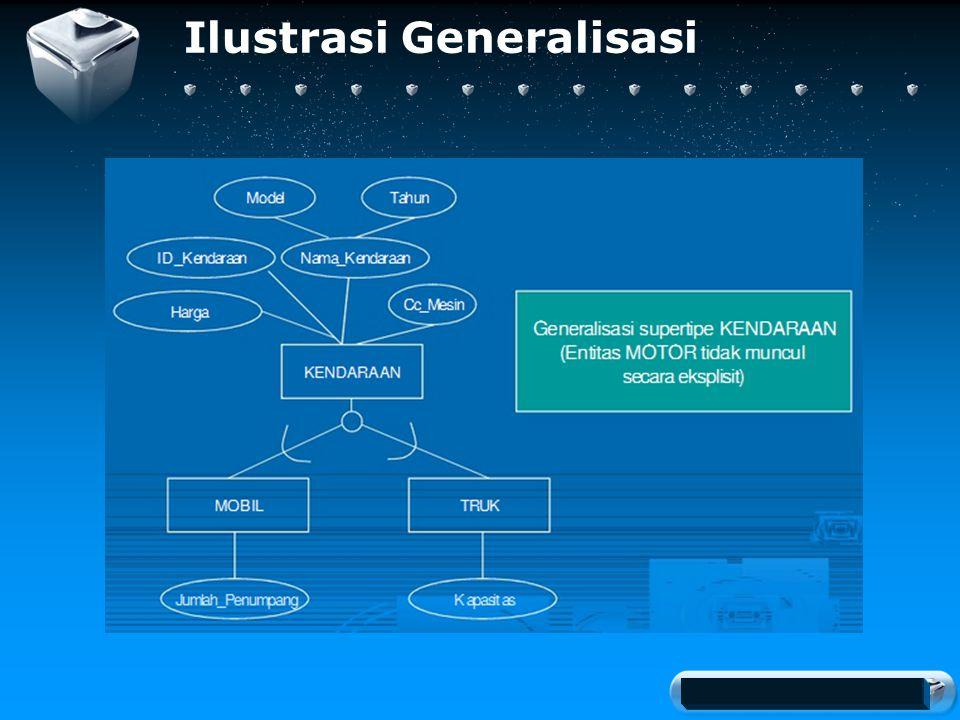 Your company slogan Ilustrasi Generalisasi