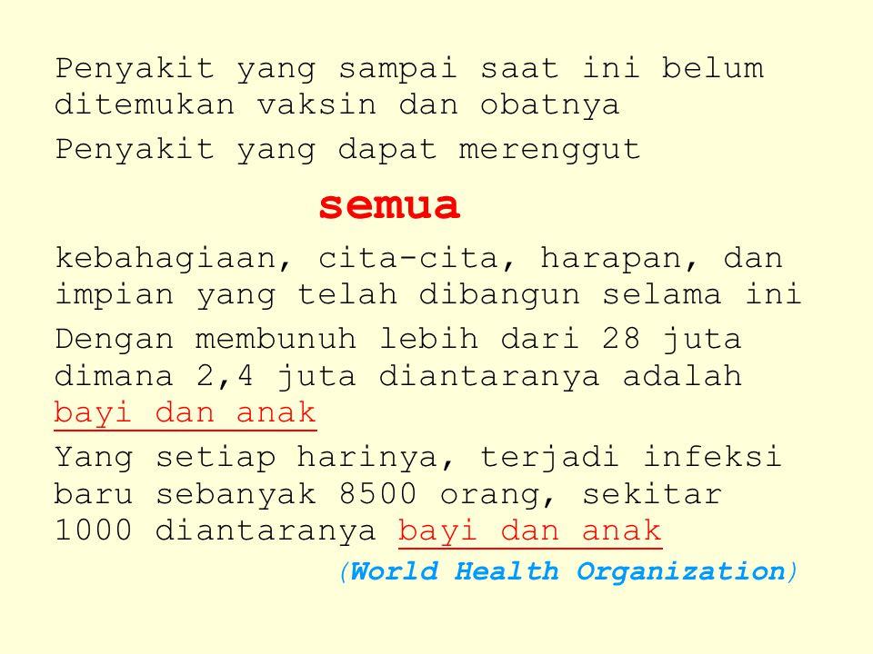 JANGAN BIARKAN AIDS & NARKOBA MERUBAH SEMUANYA Created by: www.mydanar.weebly.com.weebly.com