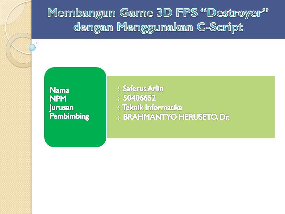 Game pada dasarnya adalah hiburan jenis game (genre) FPS banyak dimainkan semua orang cenderung menyukai permainan atau game pengembangan game di Indonesia yang sepi